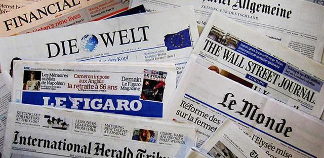 Giornali-europei