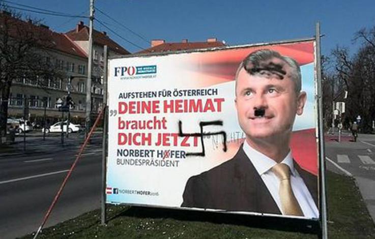 Austria, Hofer in leggero vantaggio alle Presidenziali