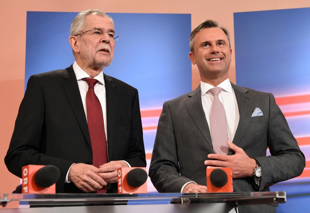 austria presidenziali risultati secondo turno