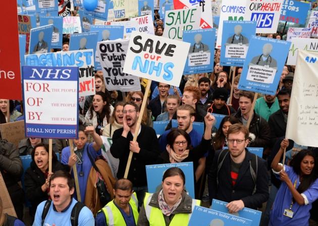 Brexit, medici, sanità, sciopero
