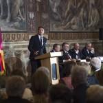 Renzi provoca Juncker e Tusk sull'economia, ma loro rispondono solo sui migranti