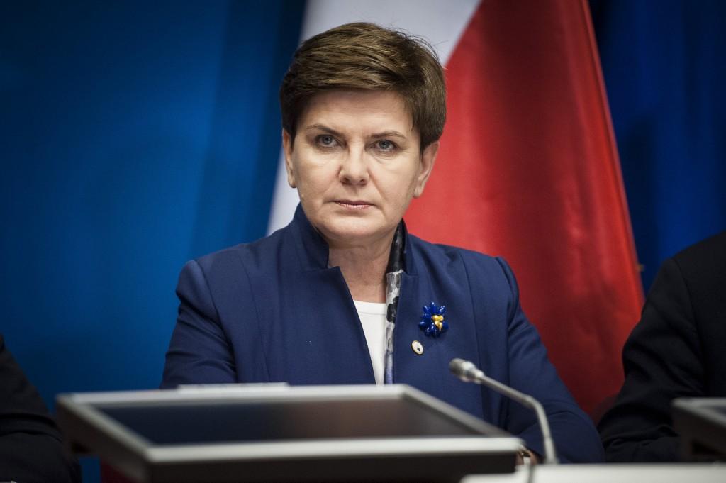 Beata Maria Szydło, 53 anni. È il primo ministro del governo di destra polacco