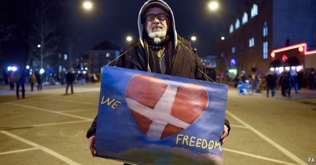 Danimarca, libertà di parola, libertà di opinione