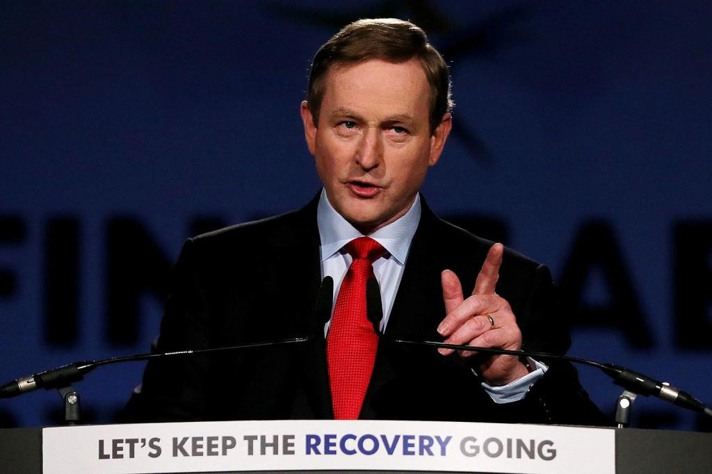 Enda Kenny, 65 anni, capo di governo irlandese. È il primo leader ad essere rieletto in un Paese reduce dal salvataggio economico
