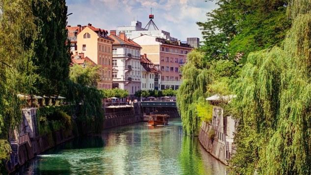Lubiana, capitale verde europea, foglia verde europea