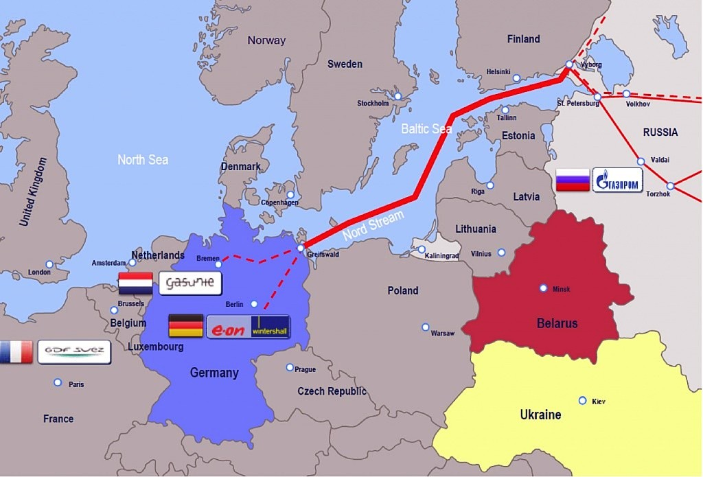 Gas, Russia, Germania, North Stream2