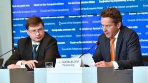 Dombrovskis Dijsselbloem Ecofin
