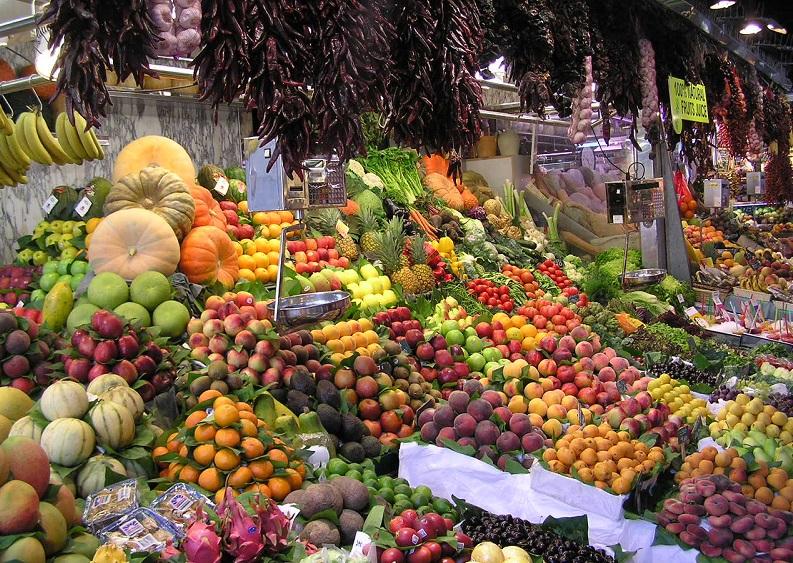 Frutta e verdura Russia