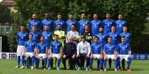 Europei, Italia, squadra Coverciano, foto