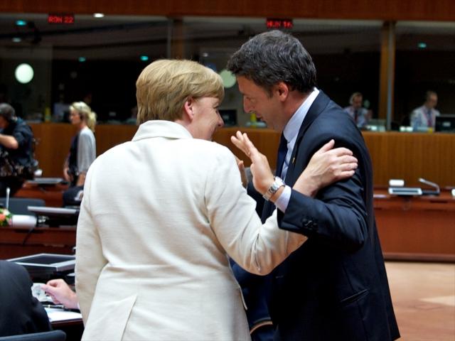 Brexit, Renzi, Merkel, Bruxelles