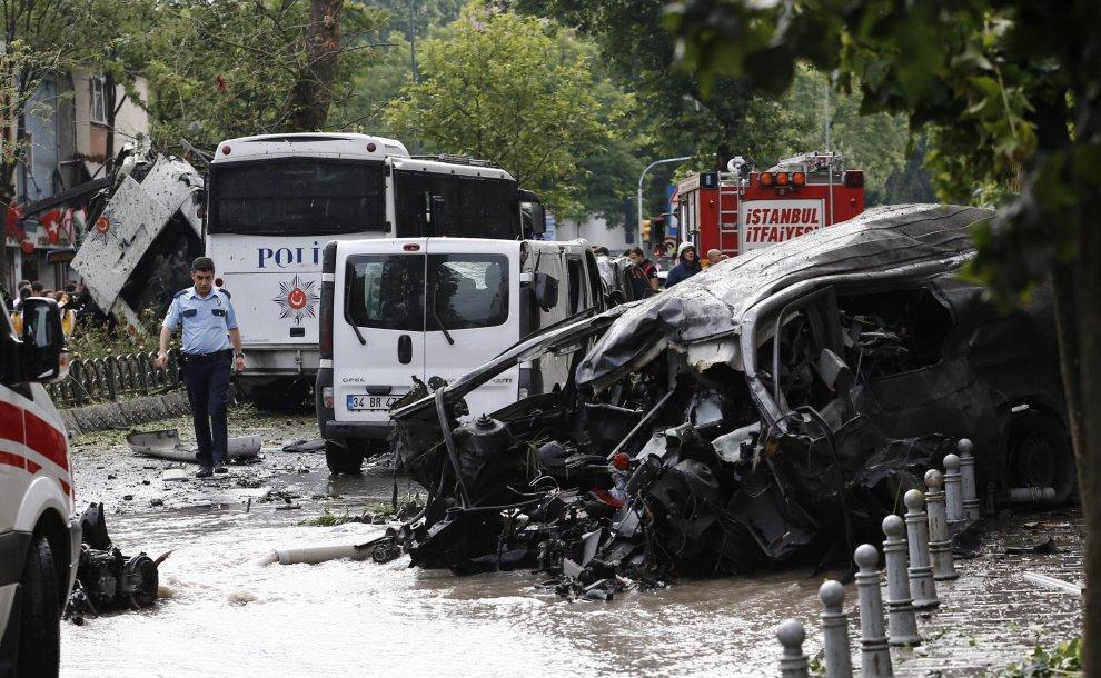 Turchia Istanbul attentato
