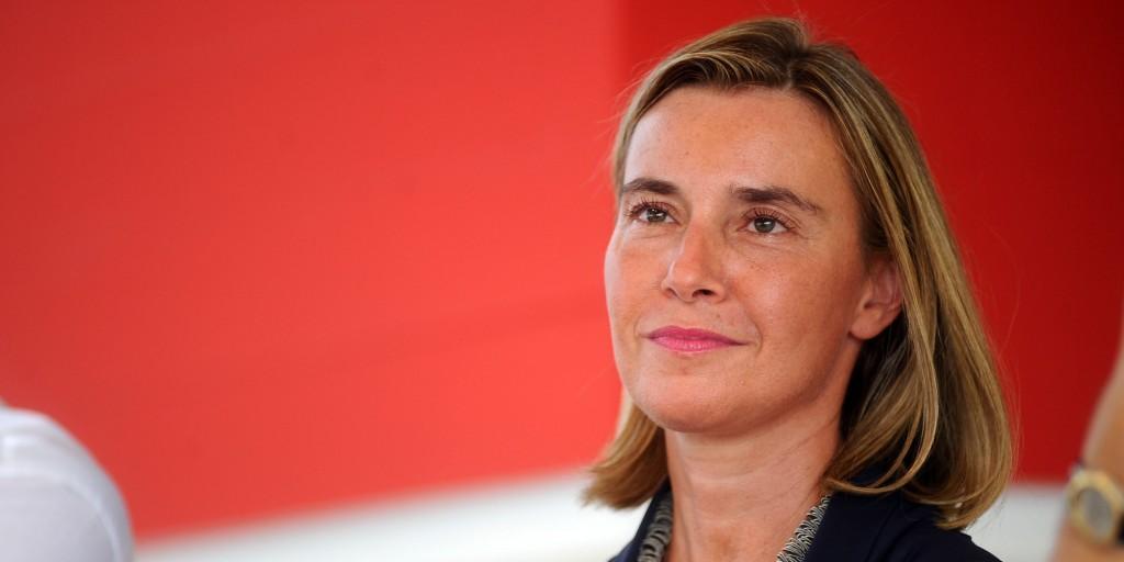 Federica Mogherini, 42 anni, Alto rappresentante dell'Unione europea per gli affari esteri e la politica di sicurezza