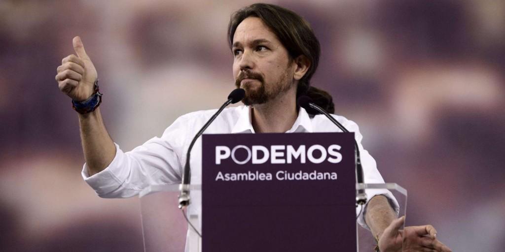Pablo Iglesias, 37 anni, fondatore di Podemos