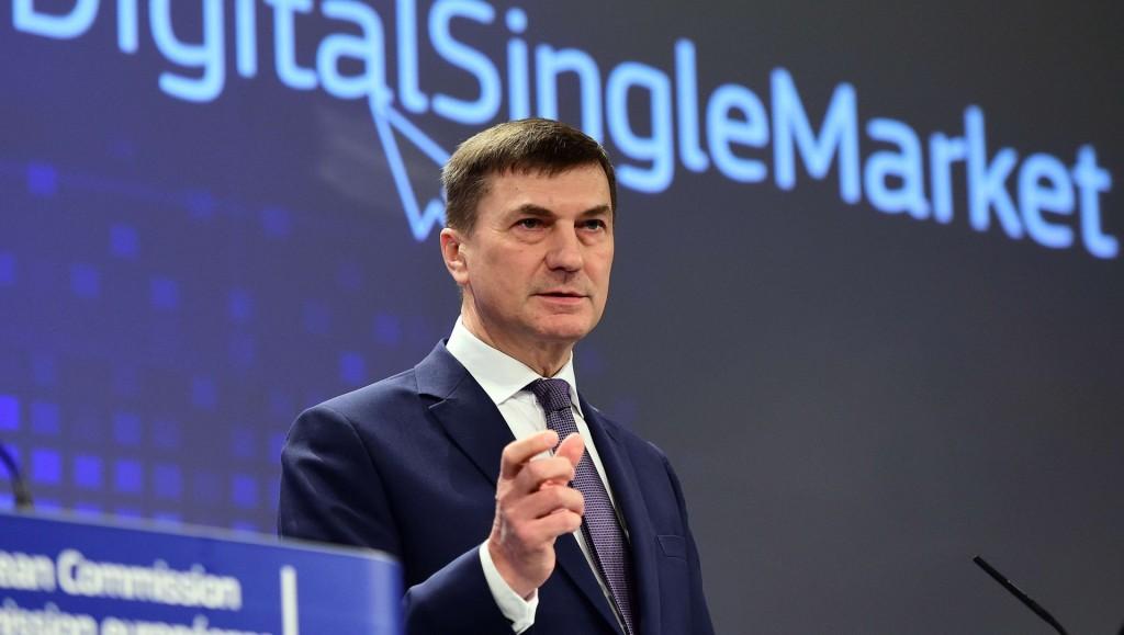 Andrus Ansip, vicepresidente della Commissione europea per il mercato unico digitale