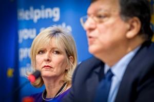 Jose Manuel Barroso, Emily O'Reilly,