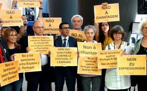Gue sanzioni Spagna Portogallo