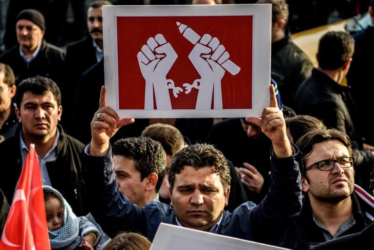 Turchia libertà stampa