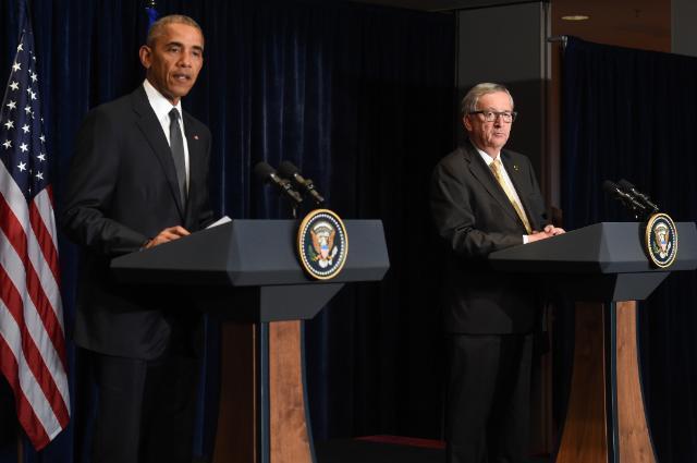 Obama Juncker ttip
