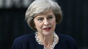 Theresa May, Primo ministro britannico