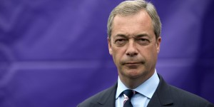 Nigel Farage, 52 anni, ex leader del partito UK independence party