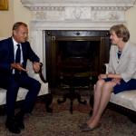 Tusk fa i complimenti a May per la conferma a premier, ma la avverte: per Brexit non abbiamo tempo da perdere