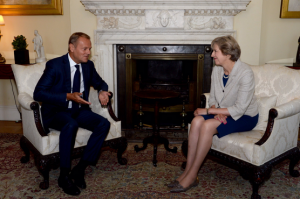 Tusk may Brexit negoziati, Gibilterra