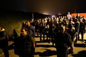 Goro Gorino barricate migranti