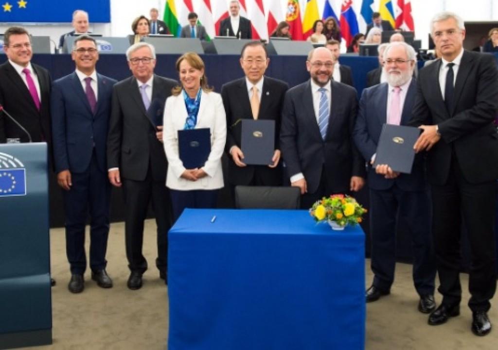Ratifica accordo parigi