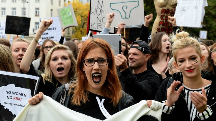 Polonia sciopero aborto