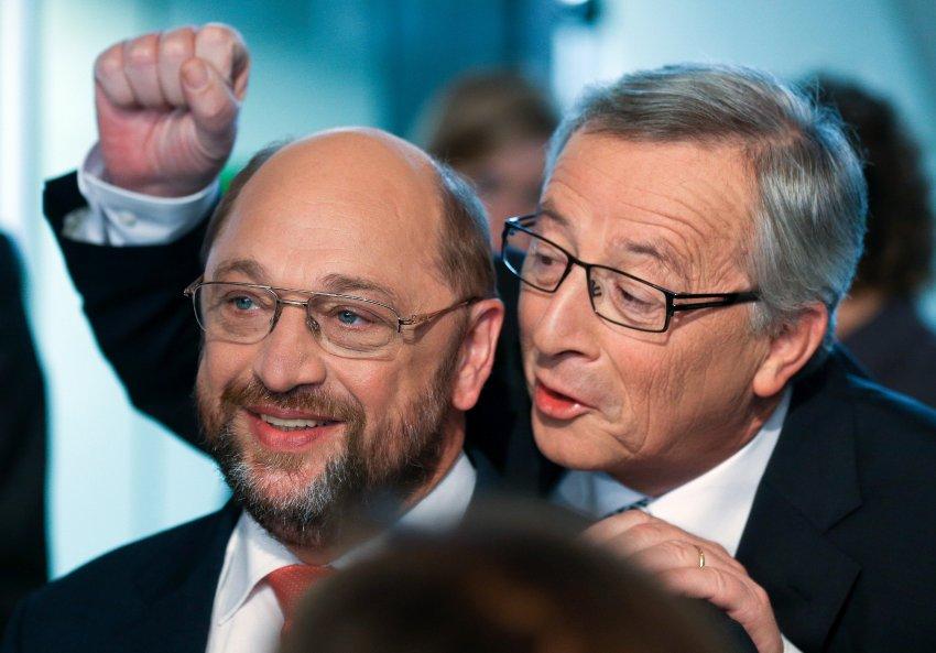 Juncker schulz