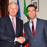 """Capo negoziatore Barnier a Roma. Gozi: """"Accordo Brexit entro primavera 2019"""""""