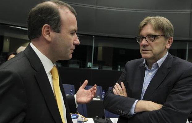 Weber e Verhofstadt - © European Union 2015 - source:EP