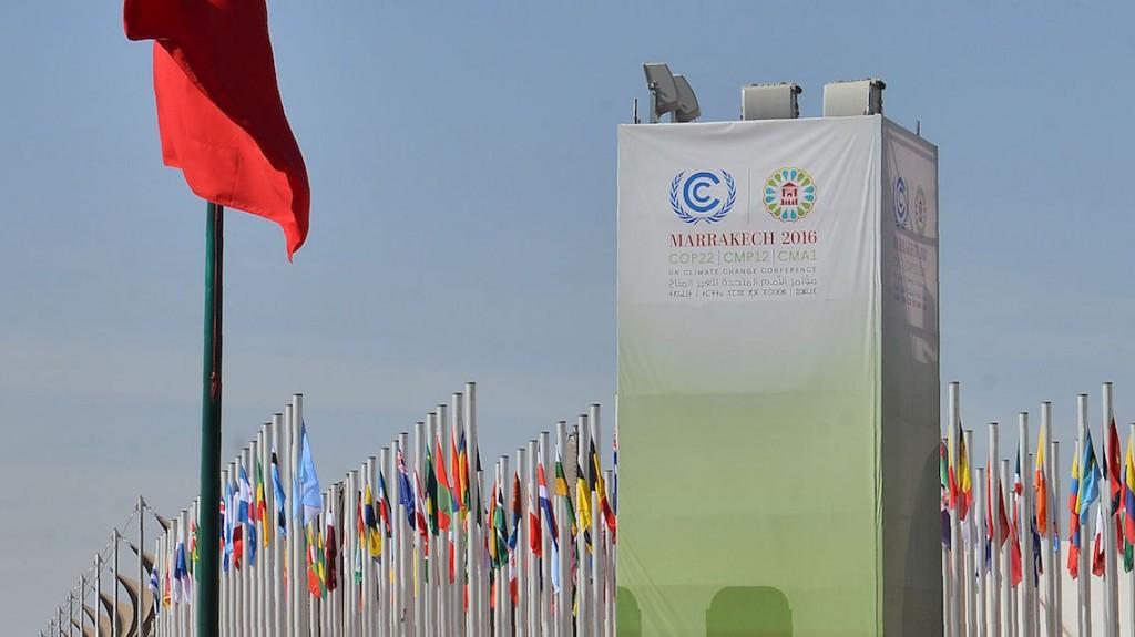 MOROCCO-ENVIRONMENT-CLIMATE-COP22