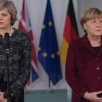 May rassicura Merkel: preparativi per Brexit sono sulla buona strada