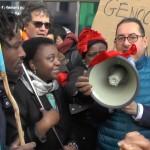 Peace walking man arriva a Bruxelles per chiedere la pace in Congo