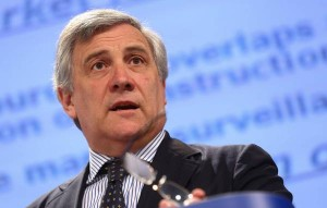 Tajani, European Parliament, President