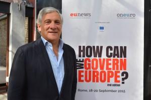 Tajani, european parliament, presiden