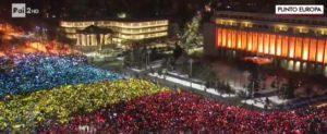 Romania, proteste, corruzione, piazza