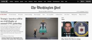 Washington Post, testata, democrazia, internet