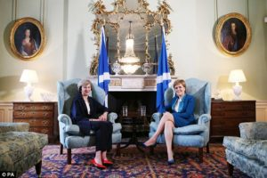 Brexit, May, Sturgeon