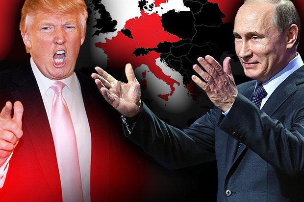 Trump Putin Russia Europa Usa