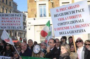 giudici di pace, sciopero, protesta, bruxelles