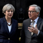 Brexit, May, Juncker, cena