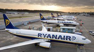 Ryanair, cancellazioni