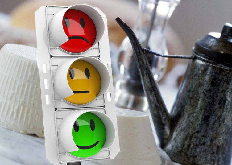 italy food traffic light