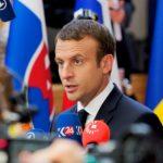 Macron al primo Summit Ue: