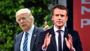 Clima, Trump, Macron