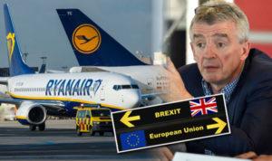 Brexit aerei voli