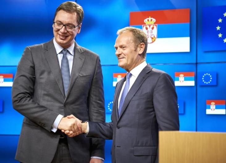 Serbia, Tusk: equiparare gli sforzi per lo stato di diritto a quelli per l'economia