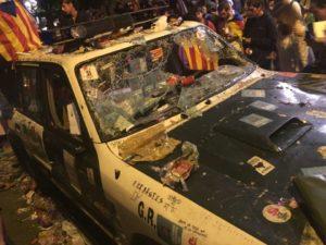 Barcellona, Catalogna, referendum, manifestazioni
